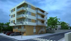 Edificio exterior, representación del diseño, arquitectura Fotos de archivo