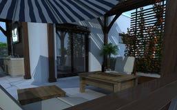 Edificio exterior, representación del diseño, arquitectura Fotos de archivo libres de regalías