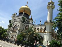 edificio famoso en Singapur Fotografía de archivo
