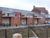Edificio ferroviario de Great Western Imágenes de archivo libres de regalías