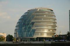 Edificio futurista Imagenes de archivo
