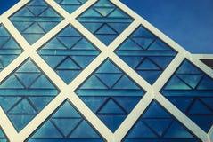 Edificio futurista Imágenes de archivo libres de regalías