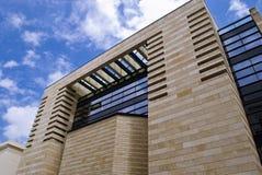 Edificio futuro Imagenes de archivo