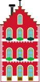 Edificio genérico vectorizado ilustración del vector