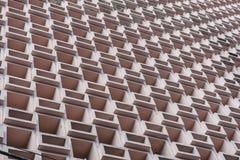 Edificio geométrico foto de archivo libre de regalías