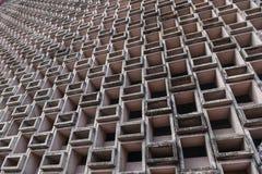 Edificio geométrico fotos de archivo