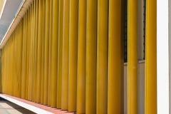 Edificio geométrico imágenes de archivo libres de regalías