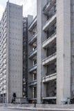 Edificio Giron, brutalism som bygger havannacigarren 1967 Fotografering för Bildbyråer