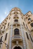Edificio Gomez villa - Camara Oscura - Plaza Vieja - havannacigarr, Kuba Arkivfoto