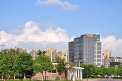 Edificio grande del gohnson de Howard Foto de archivo