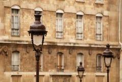 Edificio grande en París Fotografía de archivo libre de regalías