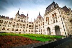 Edificio húngaro del parlamento Foto de archivo libre de regalías