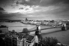 Edificio húngaro del parlamento, Budapest Fotos de archivo