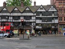 Edificio half-timbered de Tudor en Londres Foto de archivo libre de regalías