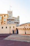 Edificio hermoso de Prince& x27; palacio de s en Mónaco-ville Imagenes de archivo