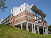 Edificio hermoso en la escuela de Taiwán Imagen de archivo libre de regalías