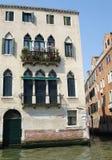 Edificio hermoso en Venecia Fotografía de archivo libre de regalías