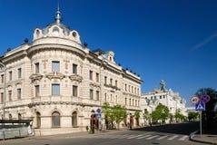 Edificio hermoso viejo en Kazan Fotografía de archivo libre de regalías