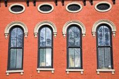 Edificio histórico colorido en Lexington imagen de archivo libre de regalías