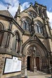 Edificio histórico construido en estilo gótico del renacimiento de la iglesia católica de la iglesia de madre del St Wilfrid aka  imágenes de archivo libres de regalías