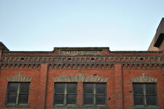 Edificio histórico de Boise foto de archivo