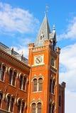 Edificio histórico de Charles Sumner School en el Washington DC, los E.E.U.U. Foto de archivo