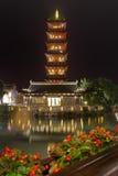 Edificio histórico de China, torre Foto de archivo libre de regalías