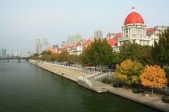 Edificio histórico de Haihe en Tianjin foto de archivo