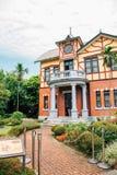 Edificio histórico de la casa de la historia de Taipei en Taiwán fotografía de archivo libre de regalías