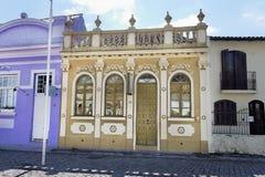 Edificio histórico de la fachada de Laguna Fotos de archivo libres de regalías
