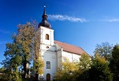 Edificio histórico de la iglesia Fotografía de archivo