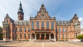Edificio histórico de la universidad Fotografía de archivo