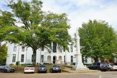 Edificio histórico de Mississippi Foto de archivo libre de regalías