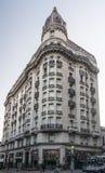 Edificio histórico de Montevideo Fotos de archivo