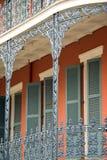 Edificio histórico de New Orleans fotografía de archivo