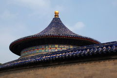 Edificio histórico de Pekín - parque de TianTan Foto de archivo libre de regalías