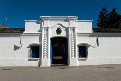 Edificio histórico de Tucumán de la casa - la Argentina Foto de archivo libre de regalías