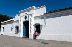 Edificio histórico de Tucumán de la casa - la Argentina Imágenes de archivo libres de regalías