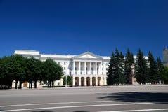 Edificio histórico del gobierno de Smolensk fotografía de archivo libre de regalías