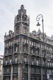 Edificio histórico en Budapest, Hungría Imagen de archivo