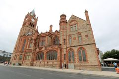 Edificio histórico en centro de ciudad Foto de archivo