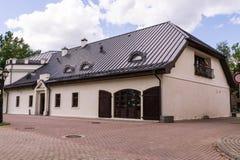 Edificio histórico en día soleado Foto de archivo libre de regalías