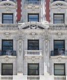 Edificio histórico en Manhattan fotografía de archivo libre de regalías