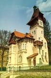 Edificio histórico en Marienbad Foto de archivo