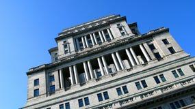 Edificio histórico en Montreal Imagenes de archivo