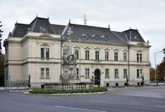 Edificio histórico en Mosonmagyarovar Imagen de archivo