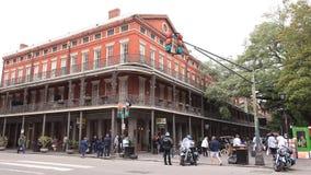Edificio histórico en New Orleans almacen de video