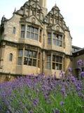 Edificio histórico en Oxford Fotos de archivo libres de regalías