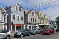 Edificio histórico en Rockport, Massachusetts Imagen de archivo libre de regalías