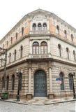 Edificio histórico en Santos Imagenes de archivo
